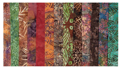 Earth-toned-batiks